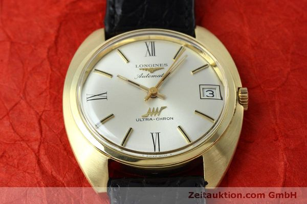 Used luxury watch Longines Ultra Chron 18 ct gold automatic Kal. 431 Ref. 8072-2  | 152460 14