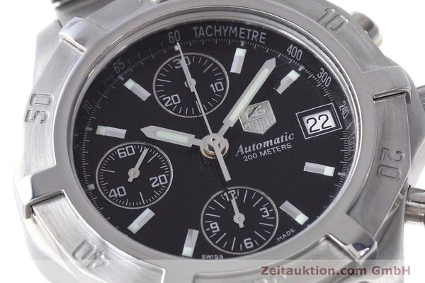 Used luxury watch Tag Heuer Professional chronograph steel automatic Kal. ETA 7750 Ref. CN2111  | 152463 02