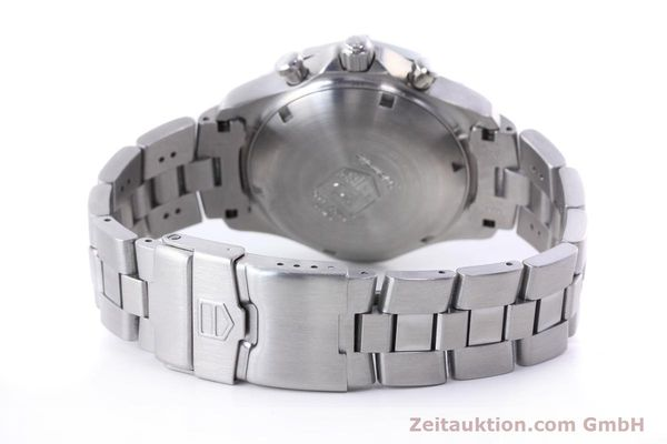 Used luxury watch Tag Heuer Professional chronograph steel automatic Kal. ETA 7750 Ref. CN2111  | 152463 11