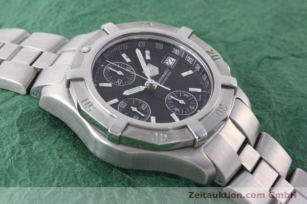 Used luxury watch Tag Heuer Professional chronograph steel automatic Kal. ETA 7750 Ref. CN2111  | 152463 13