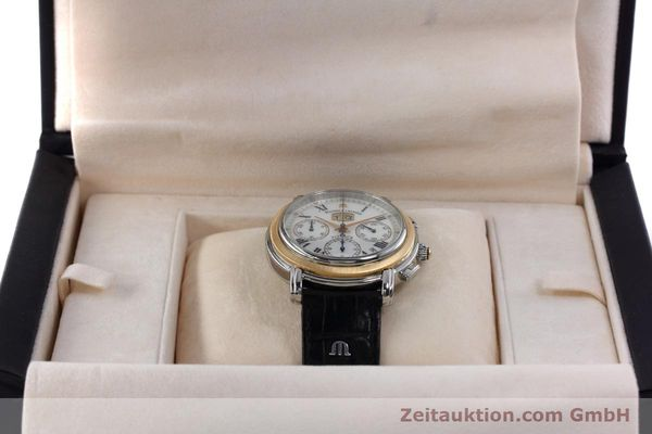 gebrauchte Luxusuhr Maurice Lacroix Masterpiece Flyback Chronograph Stahl / Gold Automatik Kal. ML15 ETA 2892A2 Ref. AD69327  | 152467 07