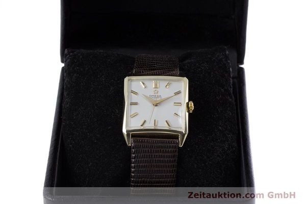 Used luxury watch Omega * 14 ct yellow gold automatic Kal. 471 VINTAGE  | 152469 07