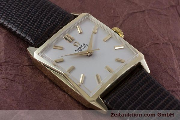 Used luxury watch Omega * 14 ct yellow gold automatic Kal. 471 VINTAGE  | 152469 13
