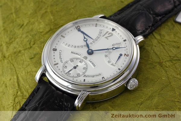 Used luxury watch Maurice Lacroix Masterpiece steel manual winding Kal. ML76 Ref. AE75896  | 152471 01