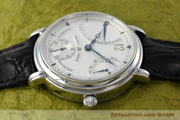 Used luxury watch Maurice Lacroix Masterpiece steel manual winding Kal. ML76 Ref. AE75896  | 152471 05