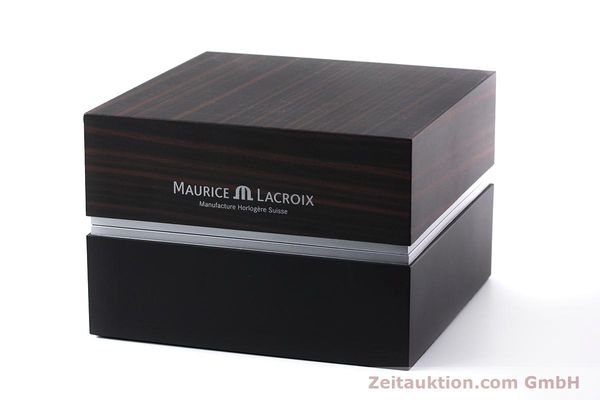 Used luxury watch Maurice Lacroix Masterpiece steel manual winding Kal. ML76 Ref. AE75896  | 152471 06