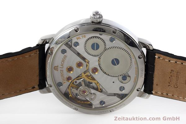 Used luxury watch Maurice Lacroix Masterpiece steel manual winding Kal. ML76 Ref. AE75896  | 152471 09
