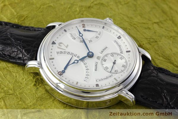 Used luxury watch Maurice Lacroix Masterpiece steel manual winding Kal. ML76 Ref. AE75896  | 152471 15