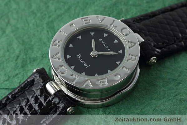 Used luxury watch Bvlgari Bzero steel quartz Kal. 100110771-TEET Ref. BZ22S  | 152472 01