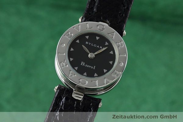 Used luxury watch Bvlgari Bzero steel quartz Kal. 100110771-TEET Ref. BZ22S  | 152472 04