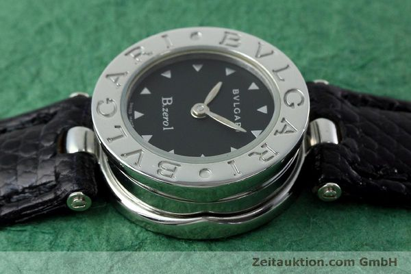Used luxury watch Bvlgari Bzero steel quartz Kal. 100110771-TEET Ref. BZ22S  | 152472 05