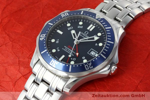 Used luxury watch Omega Seamaster steel automatic Kal. 2628 Ref. 25358000  | 152479 01