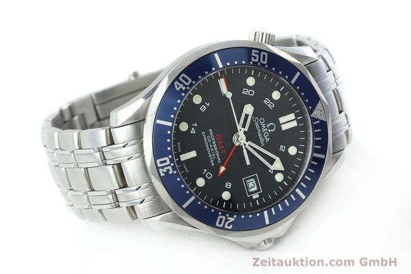 Used luxury watch Omega Seamaster steel automatic Kal. 2628 Ref. 25358000  | 152479 03