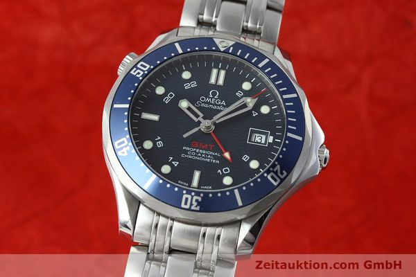 Used luxury watch Omega Seamaster steel automatic Kal. 2628 Ref. 25358000  | 152479 04