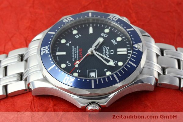 Used luxury watch Omega Seamaster steel automatic Kal. 2628 Ref. 25358000  | 152479 05