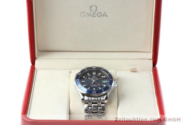 Used luxury watch Omega Seamaster steel automatic Kal. 2628 Ref. 25358000  | 152479 07