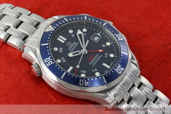 Used luxury watch Omega Seamaster steel automatic Kal. 2628 Ref. 25358000  | 152479 16