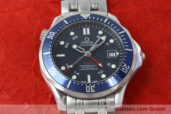 Used luxury watch Omega Seamaster steel automatic Kal. 2628 Ref. 25358000  | 152479 17