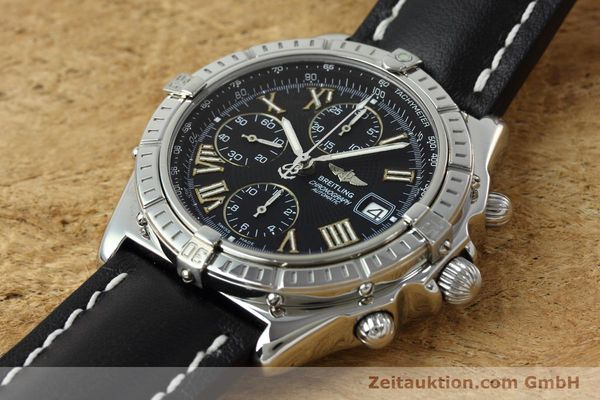 Used luxury watch Breitling Crosswind chronograph steel automatic Kal. B13 ETA 7750 Ref. A13055  | 152482 01
