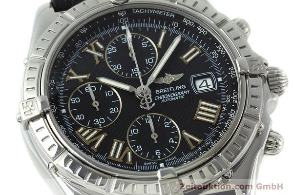 Used luxury watch Breitling Crosswind chronograph steel automatic Kal. B13 ETA 7750 Ref. A13055  | 152482 02