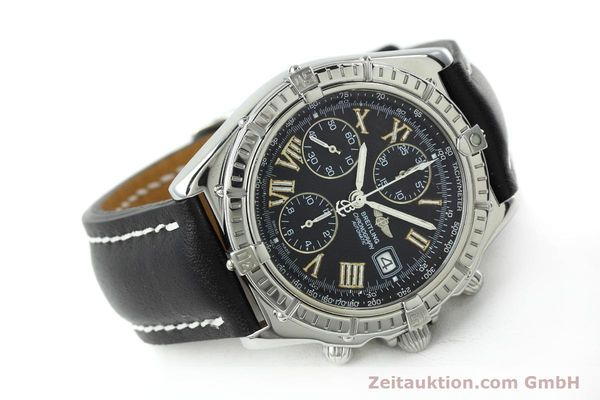 Used luxury watch Breitling Crosswind chronograph steel automatic Kal. B13 ETA 7750 Ref. A13055  | 152482 03