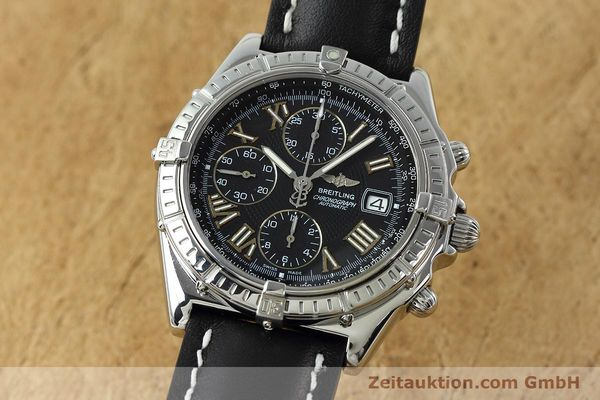 Used luxury watch Breitling Crosswind chronograph steel automatic Kal. B13 ETA 7750 Ref. A13055  | 152482 04