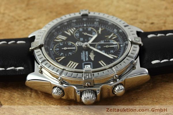 Used luxury watch Breitling Crosswind chronograph steel automatic Kal. B13 ETA 7750 Ref. A13055  | 152482 05