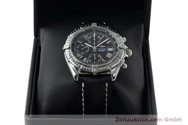 Used luxury watch Breitling Crosswind chronograph steel automatic Kal. B13 ETA 7750 Ref. A13055  | 152482 07