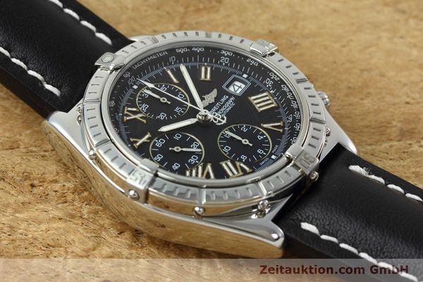 Used luxury watch Breitling Crosswind chronograph steel automatic Kal. B13 ETA 7750 Ref. A13055  | 152482 14