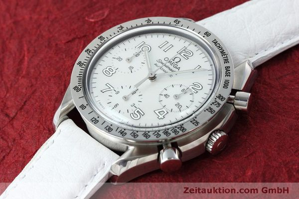 Used luxury watch Omega Speedmaster chronograph steel automatic Kal. 3220A Ref. 38027056  | 152483 01