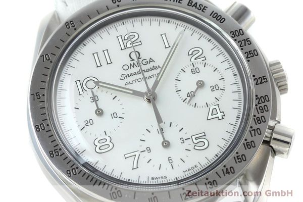 Used luxury watch Omega Speedmaster chronograph steel automatic Kal. 3220A Ref. 38027056  | 152483 02