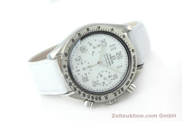 Used luxury watch Omega Speedmaster chronograph steel automatic Kal. 3220A Ref. 38027056  | 152483 03