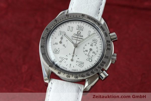 Used luxury watch Omega Speedmaster chronograph steel automatic Kal. 3220A Ref. 38027056  | 152483 04