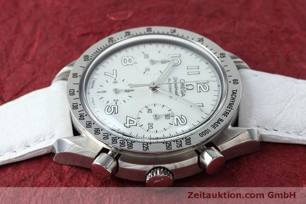 Used luxury watch Omega Speedmaster chronograph steel automatic Kal. 3220A Ref. 38027056  | 152483 05