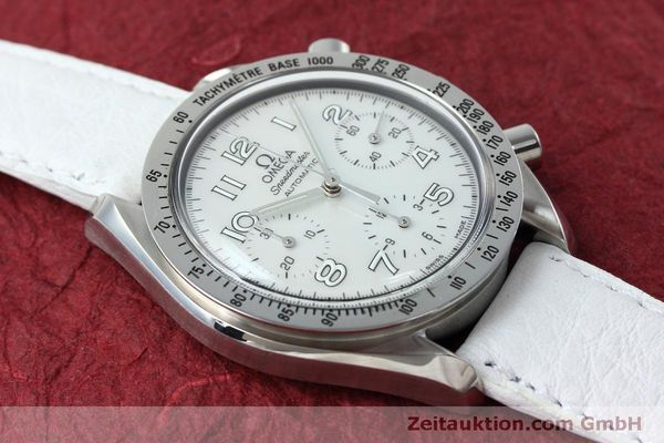 Used luxury watch Omega Speedmaster chronograph steel automatic Kal. 3220A Ref. 38027056  | 152483 14