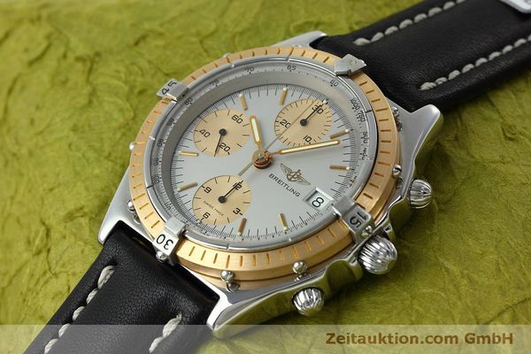 Used luxury watch Breitling Chronomat chronograph steel / gold automatic Kal. Val 7750 Ref. 81.950  | 152484 01