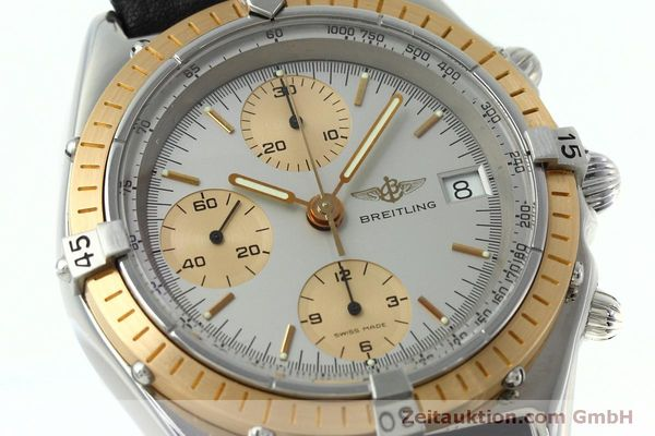 Used luxury watch Breitling Chronomat chronograph steel / gold automatic Kal. Val 7750 Ref. 81.950  | 152484 02