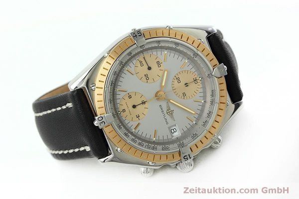 Used luxury watch Breitling Chronomat chronograph steel / gold automatic Kal. Val 7750 Ref. 81.950  | 152484 03