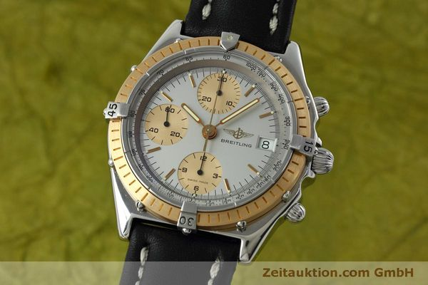 Used luxury watch Breitling Chronomat chronograph steel / gold automatic Kal. Val 7750 Ref. 81.950  | 152484 04