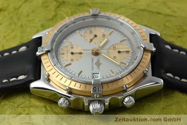 Used luxury watch Breitling Chronomat chronograph steel / gold automatic Kal. Val 7750 Ref. 81.950  | 152484 05