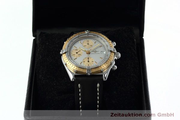 Used luxury watch Breitling Chronomat chronograph steel / gold automatic Kal. Val 7750 Ref. 81.950  | 152484 07