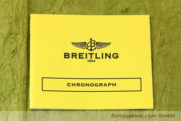 Used luxury watch Breitling Chronomat chronograph steel / gold automatic Kal. Val 7750 Ref. 81.950  | 152484 12