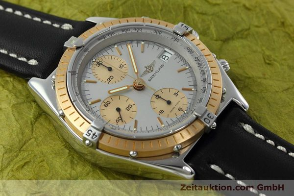 Used luxury watch Breitling Chronomat chronograph steel / gold automatic Kal. Val 7750 Ref. 81.950  | 152484 15