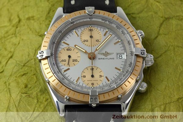 Used luxury watch Breitling Chronomat chronograph steel / gold automatic Kal. Val 7750 Ref. 81.950  | 152484 16
