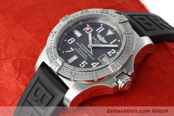 Used luxury watch Breitling Avenger Seawolf steel automatic Kal. B17 ETA 2824-2 Ref. A17330  | 152486 01