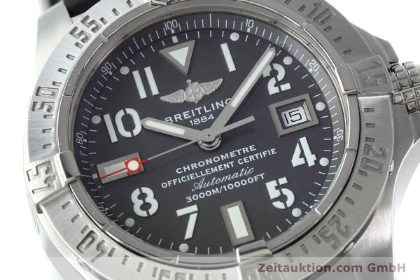 Used luxury watch Breitling Avenger Seawolf steel automatic Kal. B17 ETA 2824-2 Ref. A17330  | 152486 02