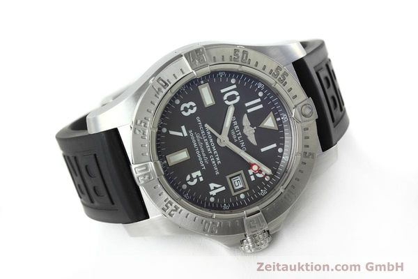 Used luxury watch Breitling Avenger Seawolf steel automatic Kal. B17 ETA 2824-2 Ref. A17330  | 152486 03