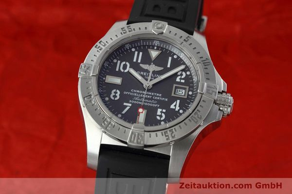 Used luxury watch Breitling Avenger Seawolf steel automatic Kal. B17 ETA 2824-2 Ref. A17330  | 152486 04