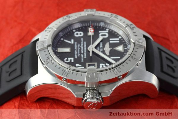Used luxury watch Breitling Avenger Seawolf steel automatic Kal. B17 ETA 2824-2 Ref. A17330  | 152486 05