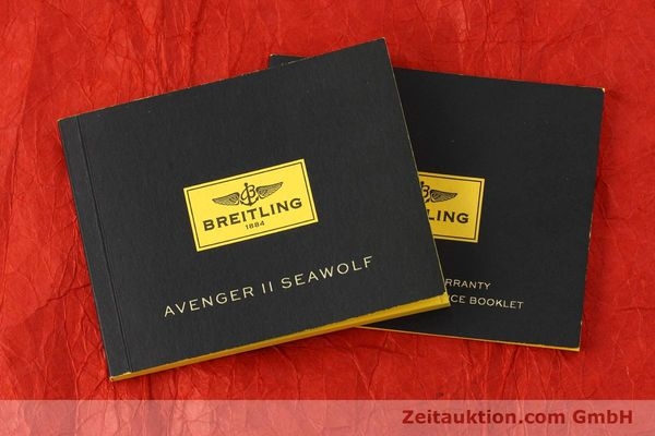 Used luxury watch Breitling Avenger Seawolf steel automatic Kal. B17 ETA 2824-2 Ref. A17330  | 152486 14